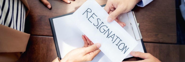 Resignation best practices