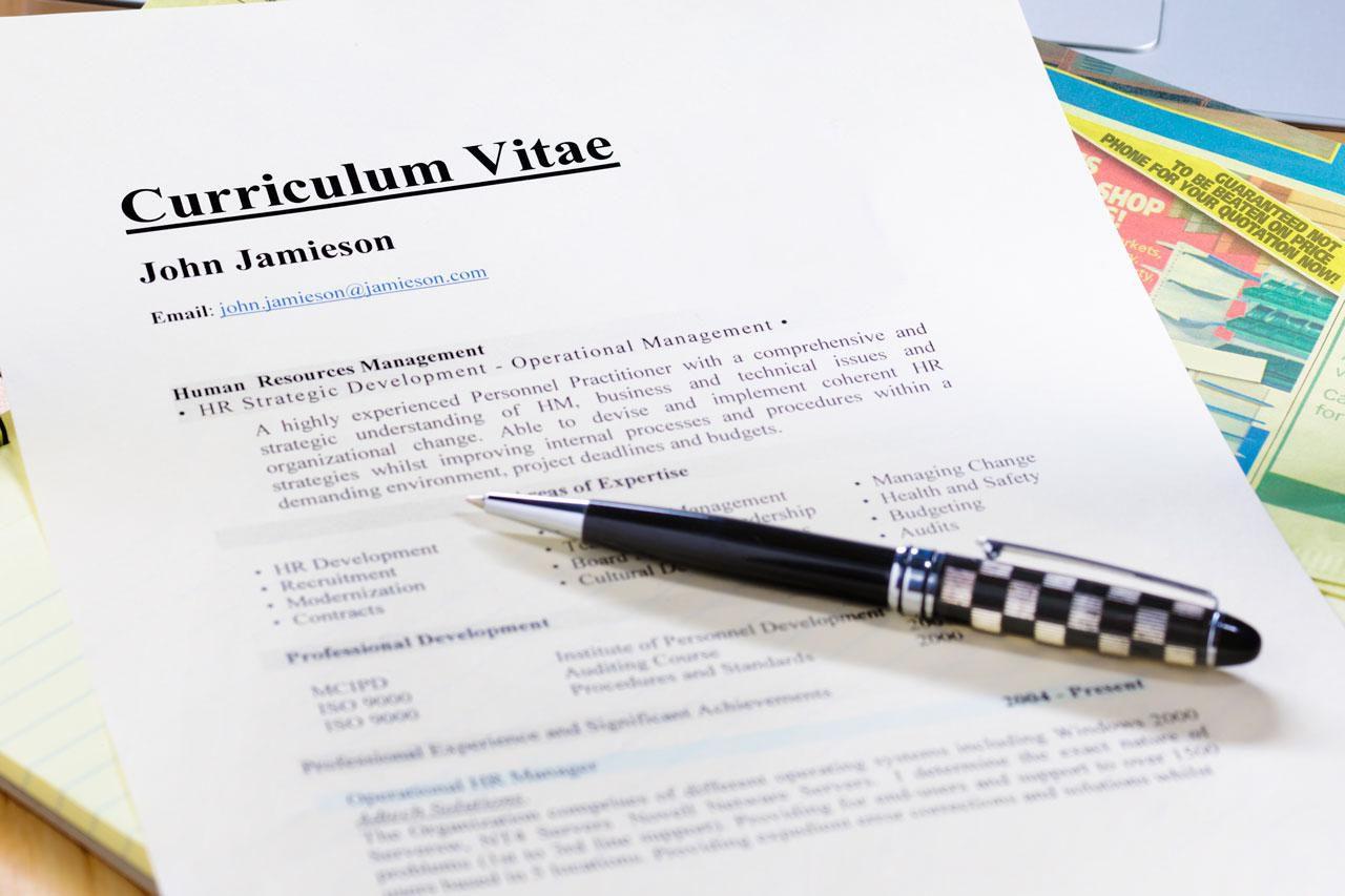 CV Writing U2013 Guidelines